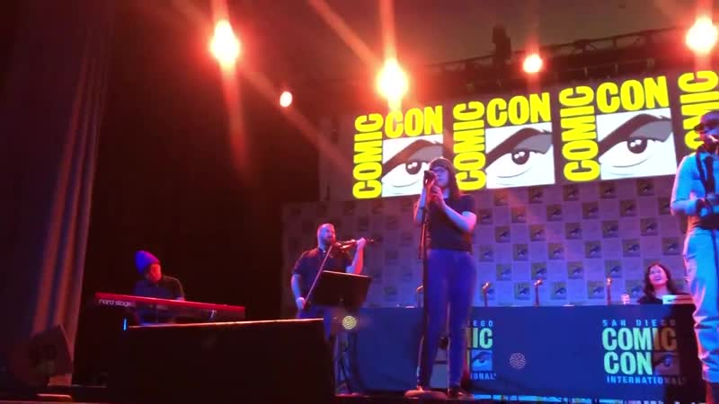 What an amazing moment between @rebeccasugar and @EstelleDarlings as they perform True Kinda Love.