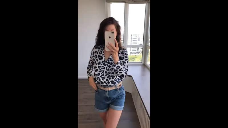 код 003 Рубашки черно-белый леопард 🔻Размеры S, M, L ОПТ 305ГРН розница 395грн
