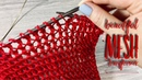 Вяжем ИЗУМИТЕЛЬНО КРАСИВЫЙ УЗОР ТРАНСФОРМЕР спицами How to knit SUPER TRANSFORMING MESH PATTERN