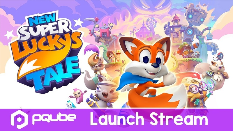 NS - New Super Lucky's Tale