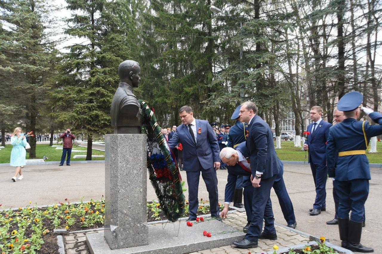 Память погибших воинов почтили в Вологде