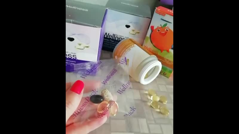 Wellness Pack для М и Ж Витаминно минеральный комплекс для Деток Омега 3 для всех