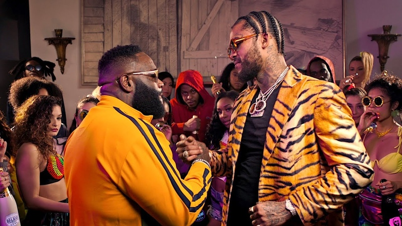 Dave East Rick Ross - Fresh Prince of Belaire (Official Video)