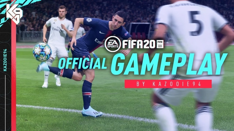 FIFA 20 Gameplay PSG vs Real Madrid w/ New Skill Moves