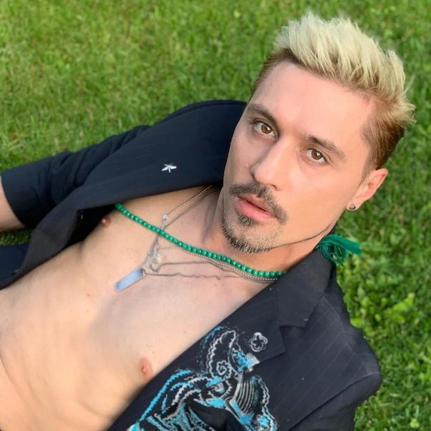 Новый цвет волос Димы Билана!