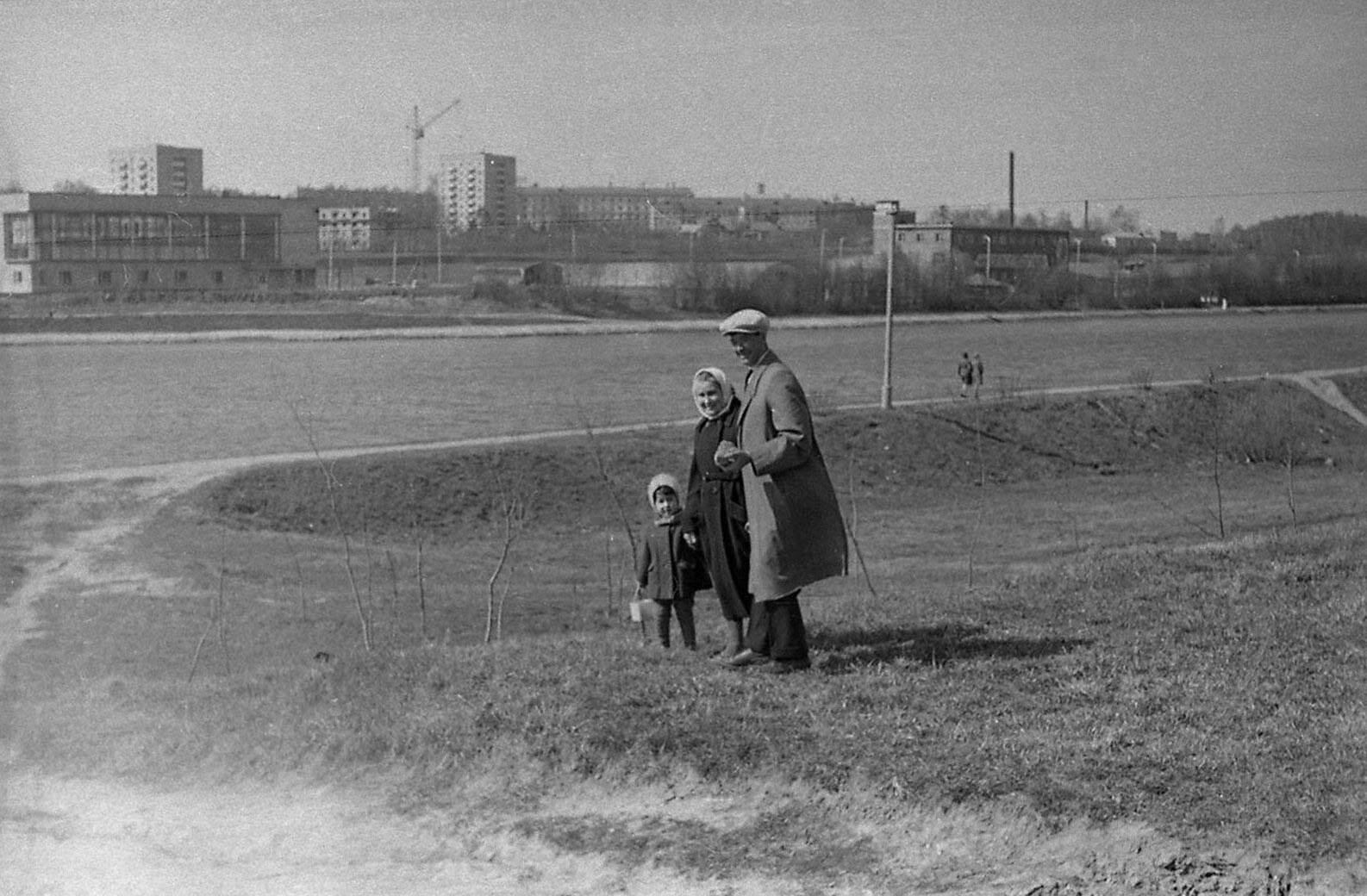 1967 год. Канал имени Москвы. На заднем