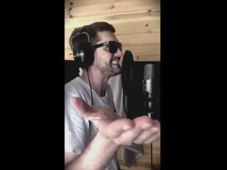 Noize MC зачитал отрывок будущего трека.   Селфи