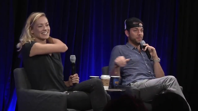 Yvonne Strahovski (Chuck) Dont Look at Me Highlight Conversations for a Cause | Nerd HQ 2015
