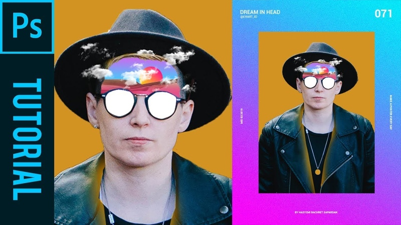 Dream in Head ala Magdiel Lopez Tutorial Photoshop CC 2019