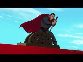 Красный день календаря: в США вышел мультфильм с главным героем - советским Суперменом