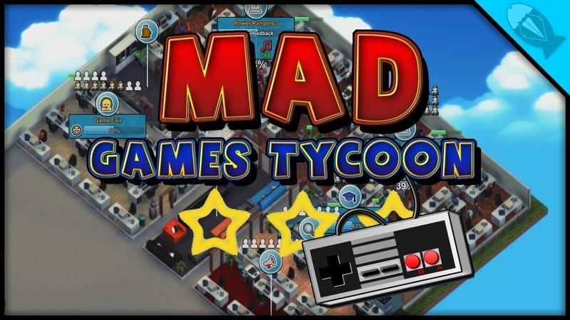 Mad Games Tycoon. Эпичная сложность (стрим) 2