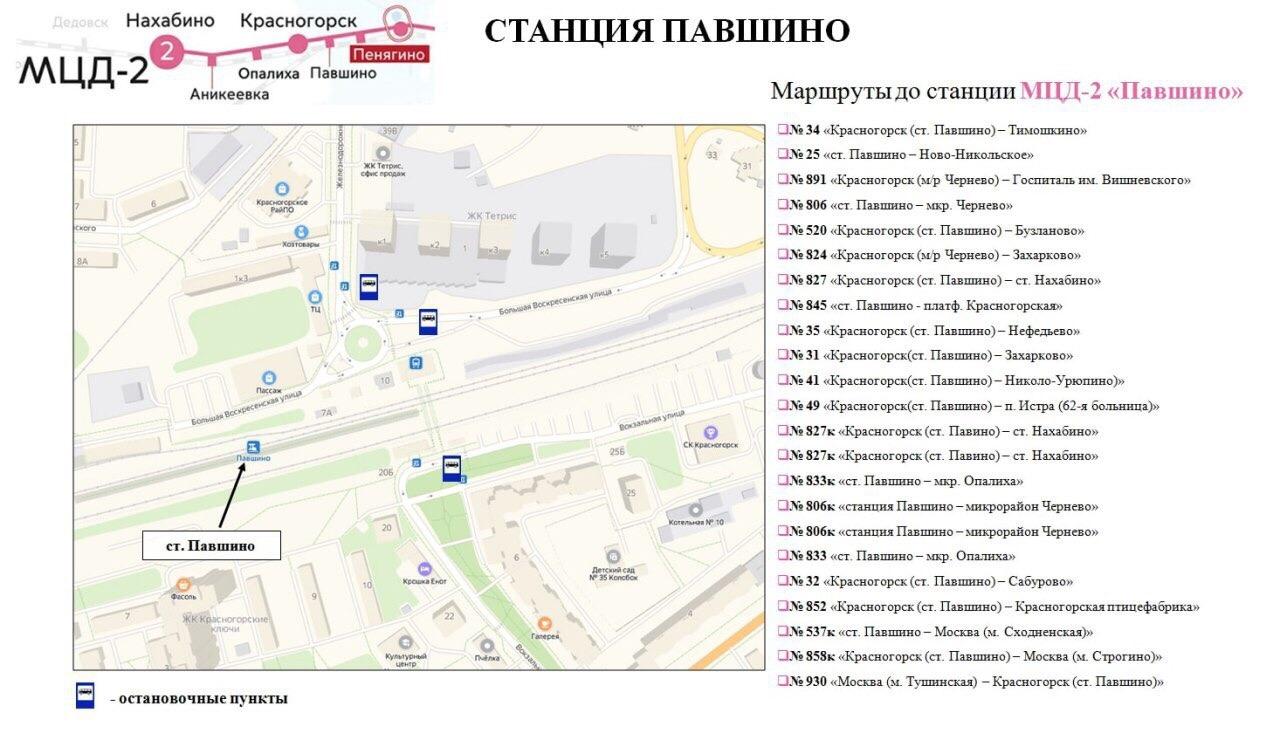 Транспортная доступность Красногорска улучшится  Это произойдет, когда откроются