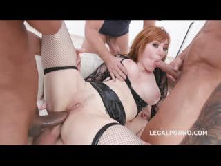Lauren Phillips - Manhandle, Gets 4on1 Rough Sex - All Sex Anal DP DAP MILF Big Tits, Porn, Порно