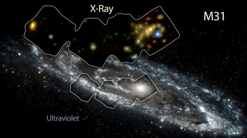 [ЗЛОЙ КОСМОС / EVIL SPACE] ПОТРЯСАЮЩАЯ ГАЛАКТИКА АНДРОМЕДЫ [M 31, NGC 224]