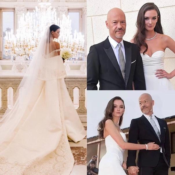 Стало известно, что свадебное платье Паулины Андреевой стоило около 1 миллиона рублей