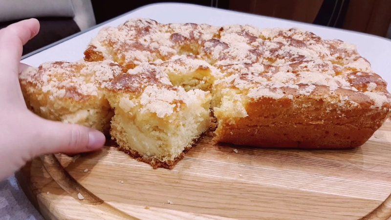 С таким сахарным пирогом торт ненужен !You don't need cake with this pie !