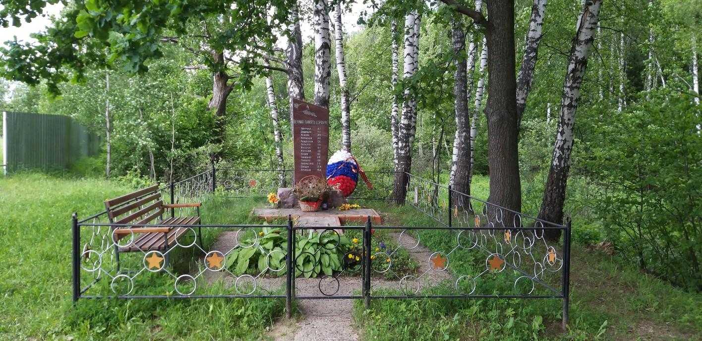 Вид памятника в Перхушково