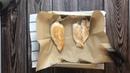 Обед • Куриное филе с чёрным рисом, апельсином и соусом карри