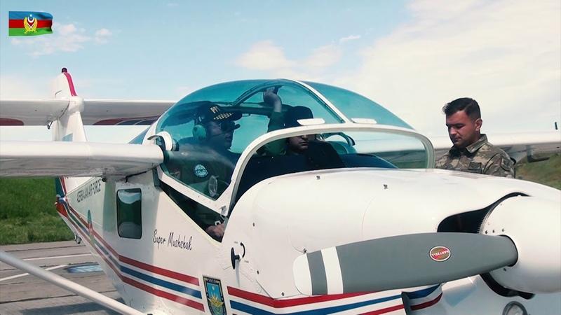 Hərbi pilotlarımız təlim-məşq uçuşları keçirir - 22.04.2019