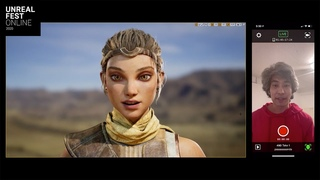 iPhone Facial Capture with Unreal Engine | Unreal Fest Online 2020