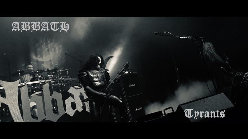 ABBATH - Tyrants Live Toulouse Metronum 30012020
