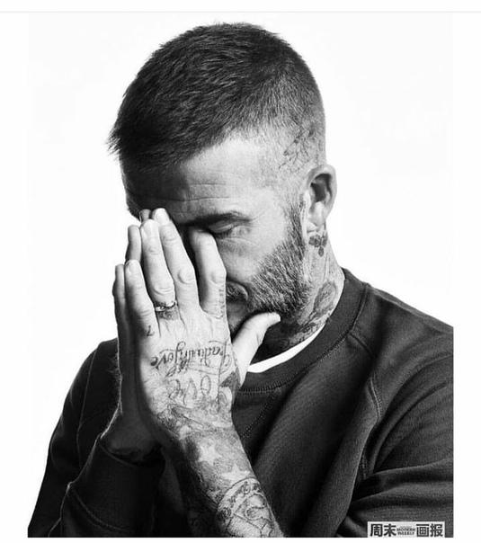 David Beckham Modern Weekly Style China, October 2018