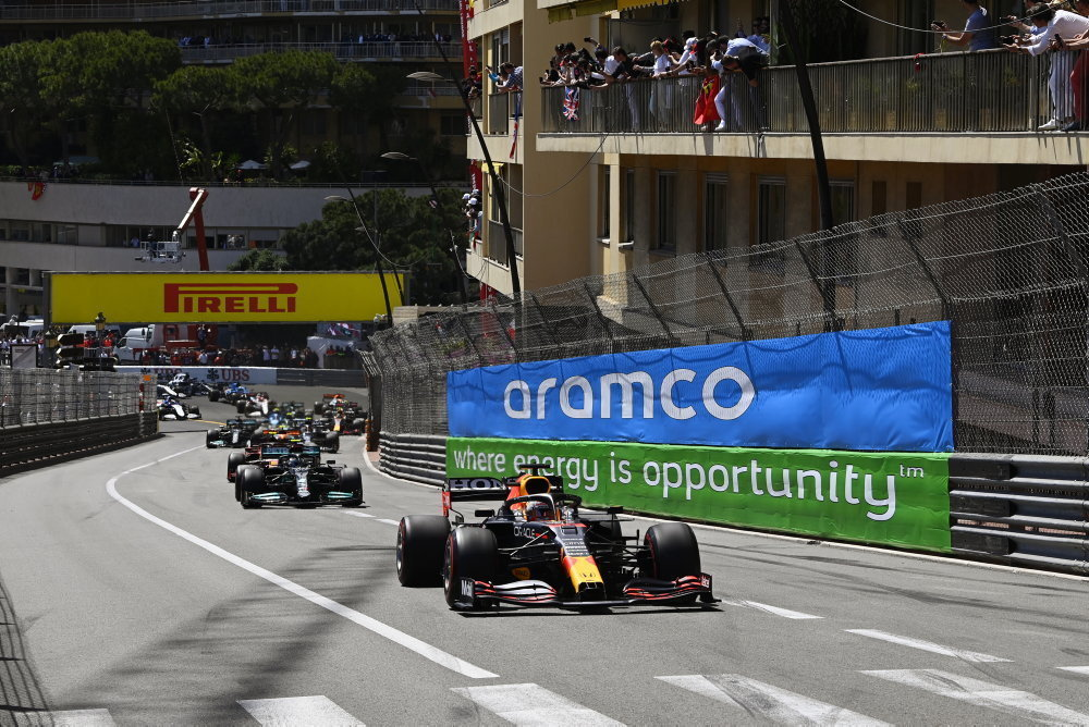 После старта гран-при Монако 2021 года