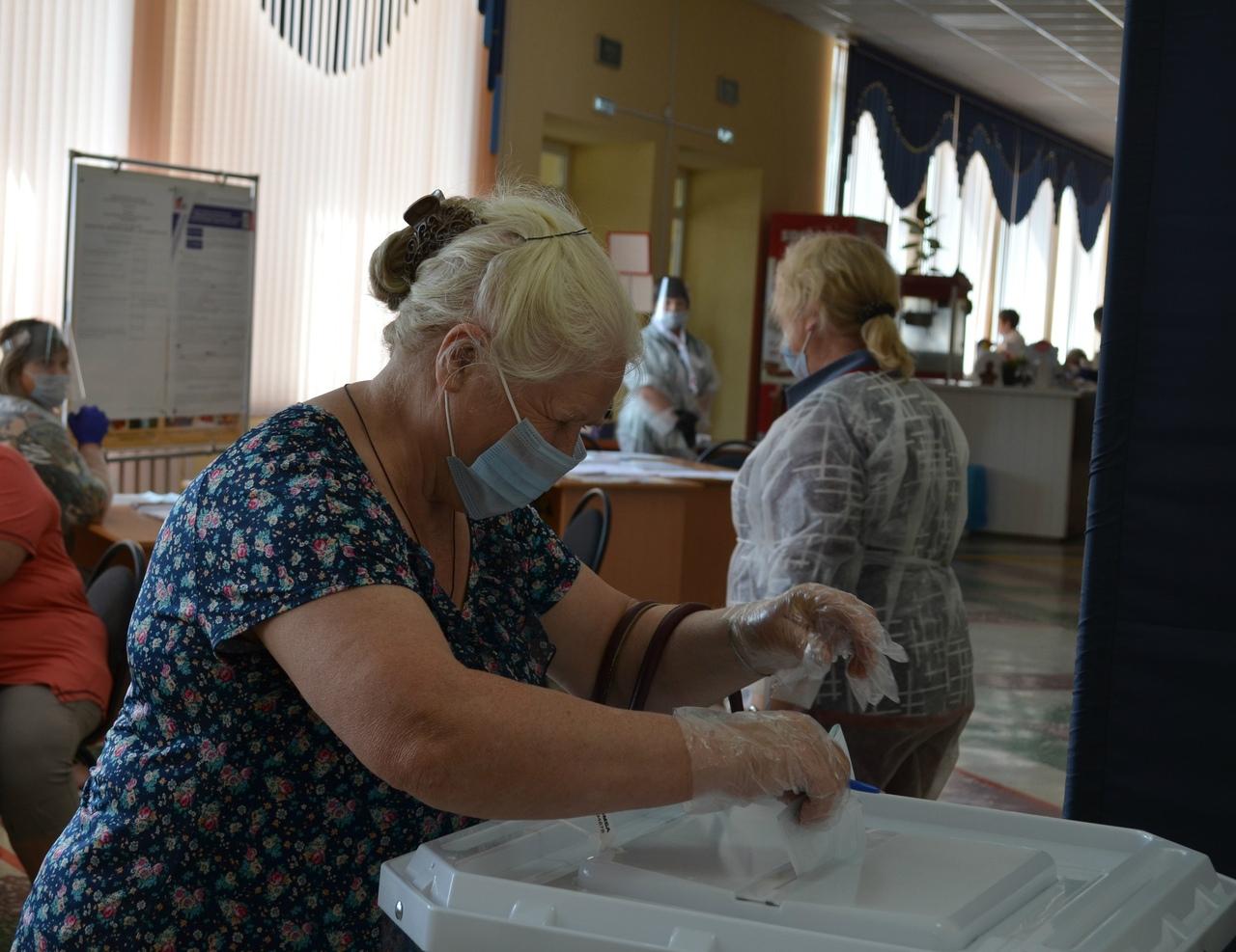 Голосование по внесению поправок в Конституцию России: на избирательных участках Петровского района соблюдаются предписания Роспотребнадзора по охране здоровья граждан