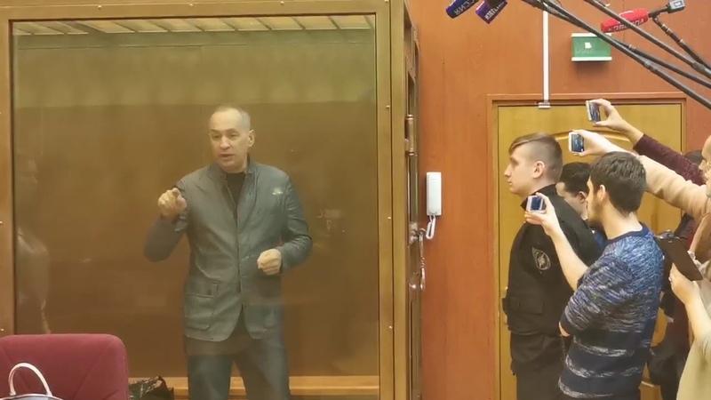 Александр Шестун о Подольской ОПГ в суде