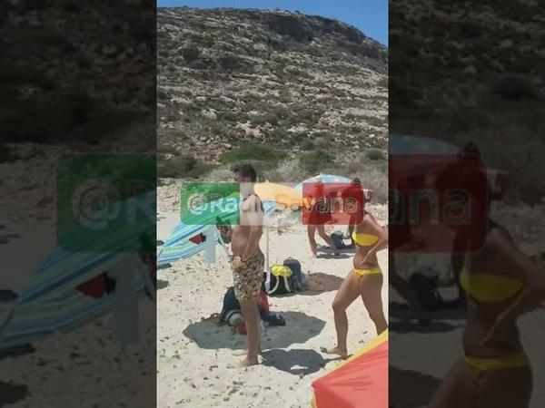 Lampedusa shock centinaia di risorseINPS clandestini sbarcano in spiaggia piena di turisti
