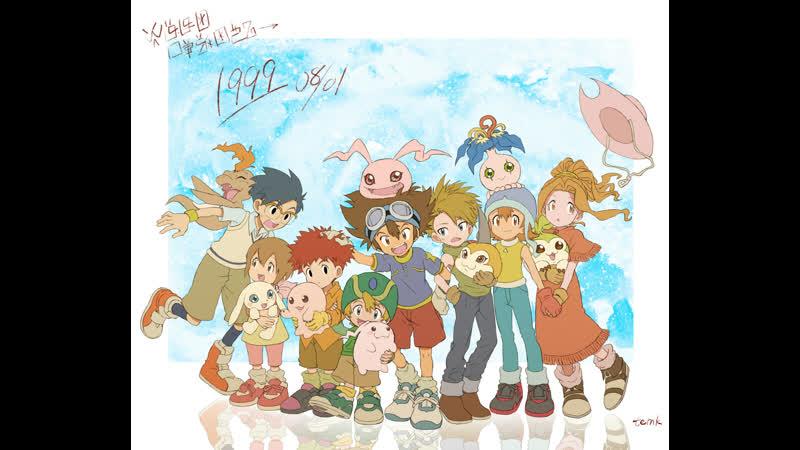 Digimon Adventure 1. Печальные и трогательные моменты в сериале и полнометражках ( Почему Дигимоны серьезнее Покемонов ).