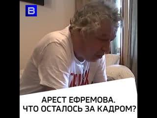Арест Ефремова. Что осталось за кадром