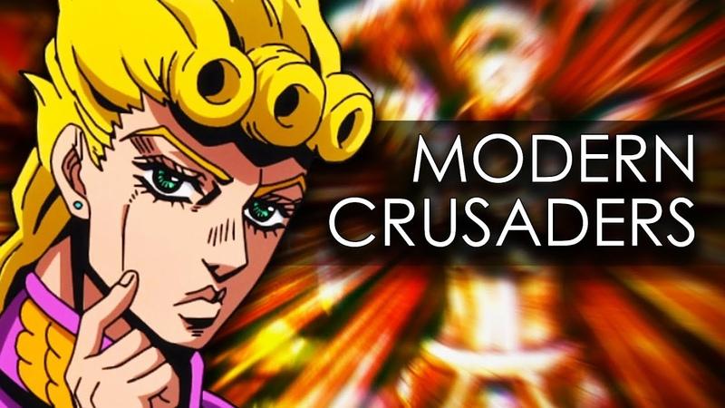 Modern Crusaders Credits Music from JoJo's Bizarre Adventure Golden Wind Piano Tutorial