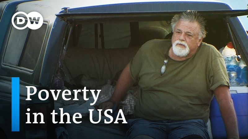 How poor people survive in the USA DW Documentary