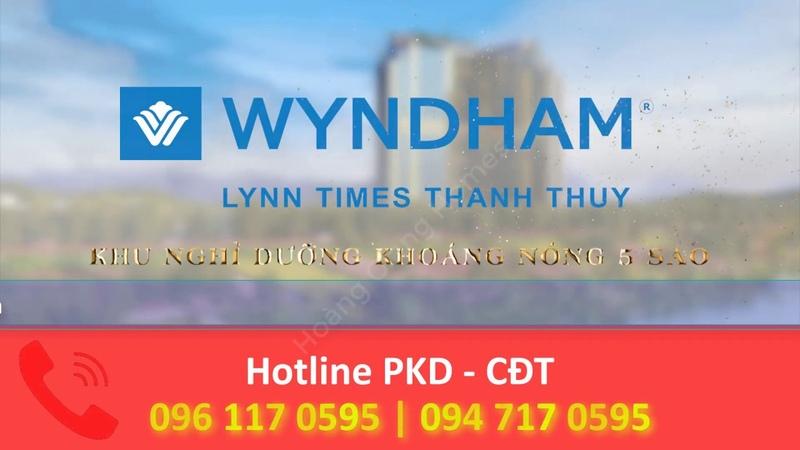 Wyndham Thanh Thuỷ Giới thiệu Tổng Quan Dự án Khu Nghỉ dưỡng LH 0961170595 Hoàng Giang Homes
