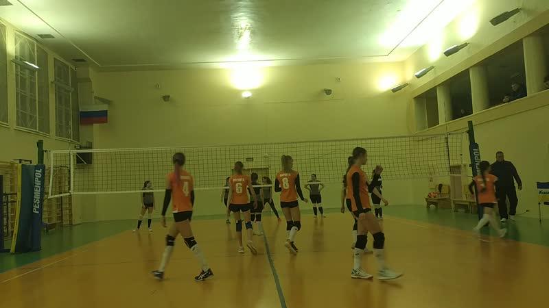 Шахтёр - Мед колледж 1-2 партии