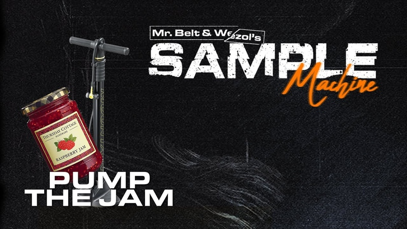 Sampling 'Pump The Jam' in a track Mr Belt Wezol's Sample Machine 1