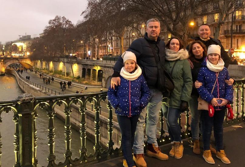 С супругами Французовыми — во Франции