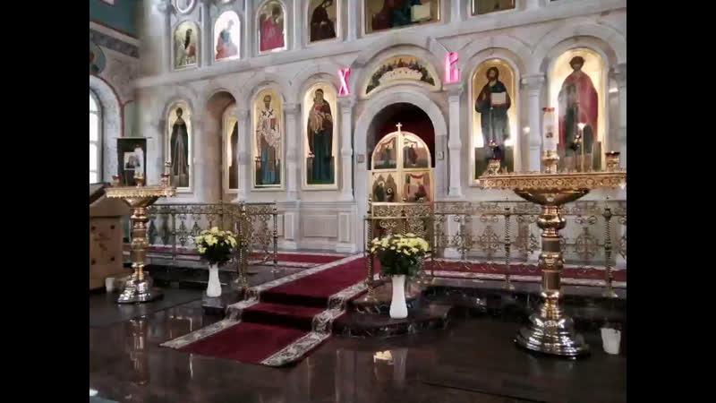 Свт Николая Мир Ликийских Чудотворца Божественная литургия