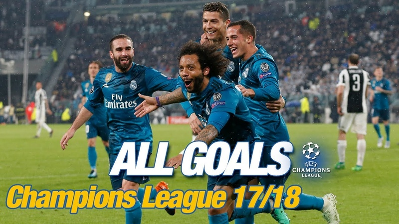 Every Champions League goal 2017 18 Bale and Cristiano s brilliant bicycle kicks!