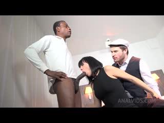 Kinky black cuckold sex with Mya Lorenn