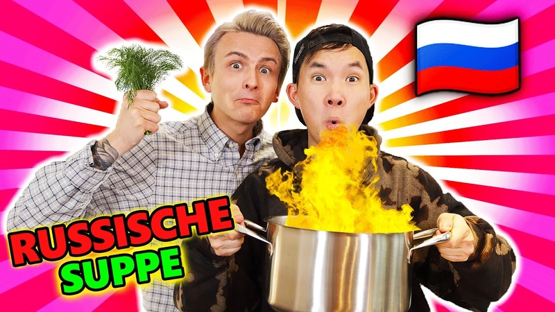 Ich koche RUSSISCHES Essen mal wieder 🇷🇺 für Dima