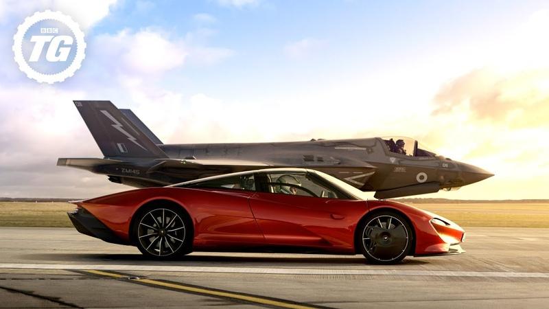 FULL FILM McLaren Speedtail vs F35 Fighter Jet Top Gear