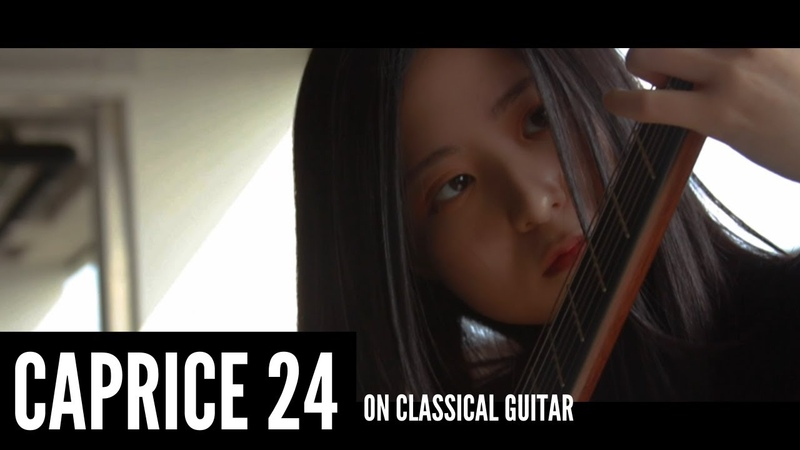 Caprice 24 - Niccolò Paganini on classical guitar l I've warmed up a little 💪