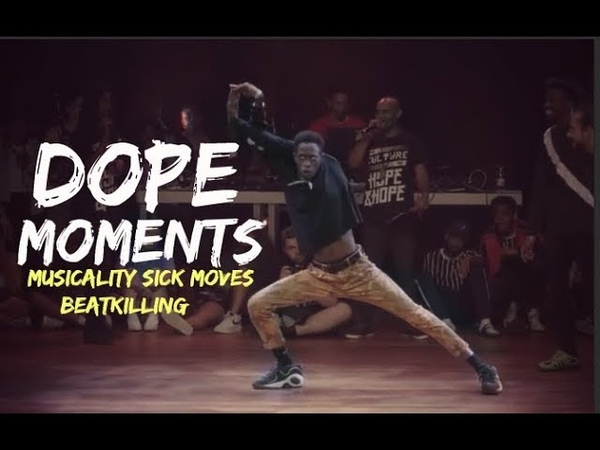 DOPE MOMENTS | Dancer's Killed the battle rounds | Musicality SICK Moves BeatKilling