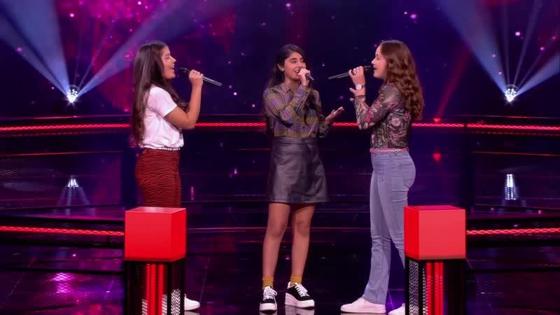 Romy vs Lenya vs Maud – «Always Remember Us This Way» The Voice Kids 2020