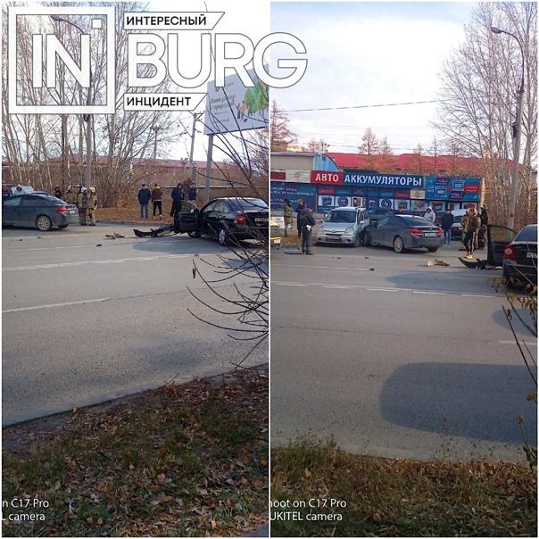 На Селькоровской, 2 произошло ДТП. Обстоятельства ...