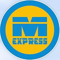 Логотип M-EXPRESS / Автобус и туры в Шерегеш и Алтай