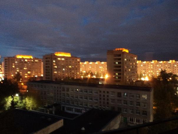 Включили красивую подсветку у нас в Архангельске н...