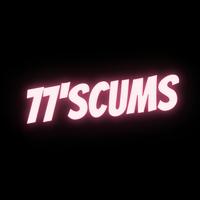 Логотип 77'SCUMS / СКАМСЫ / ХАРДКОР-ПАНК САМАРА